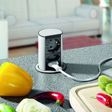 Schalter und Steckdosen - Küche kaufen #Ort\' Küchenstudio ...